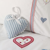 Stripe Heart Decoration