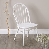 Buy Ercol Windsor Dining Chair - White from The White Company