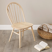 Buy Ercol Windsor Dining Chair - Natural from The White Company