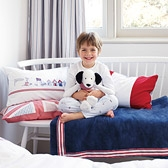 Buy Nautical Fleece Blanket from The White Company