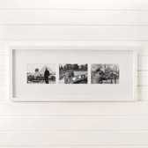 Buy Slim Wooden Photo Frame 5x7 - White from The White Company