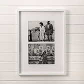 Buy Slim Wooden Photo Frame 8x10 - White from The White Company