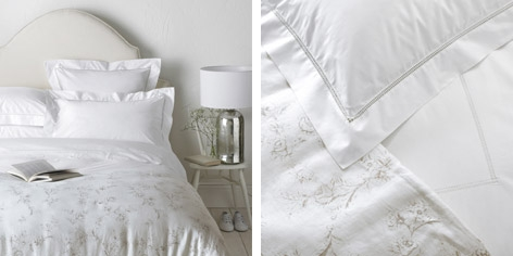Buy Arlette Bed Linen Collection from The White Company