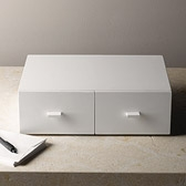 White Lacquer Drawers