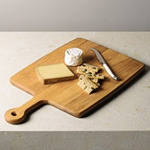 Paddle Oak Wood Chopping Board