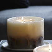 Winter Botanical Candle - Large