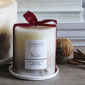Winter Botanical Candle - Medium