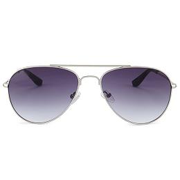 Aviator Sunglasses - Silver
