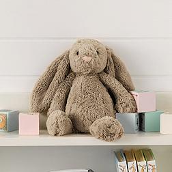 Medium Natural Bashful Bunny