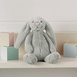 Small Silver Bashful Bunny
