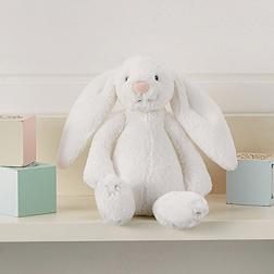 Small White Bashful Bunny