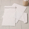 Large Reversible Vermont Bath Mat - White