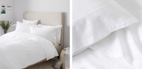 Azores Bed Linen Collection - White