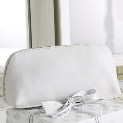 Leather Wash Bag White Bathroom Accessories The White Company Us