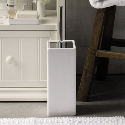Newcombe Ceramic Toilet Brush Holder