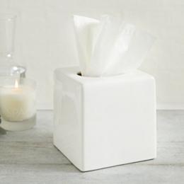 Newcombe Ceramic Tissue Box Cover
