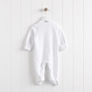 2015 Baby Sleepsuit - White