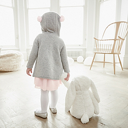 Huge White Bashful Bunny