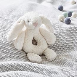 Jellycat Bashful Bunny Rattle