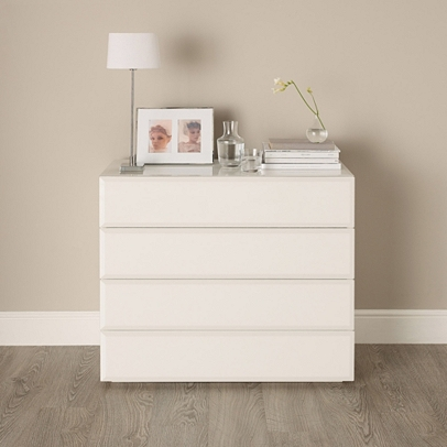 Carlton Glass Chest Of Drawers Bedroom Furniture The White Company Uk