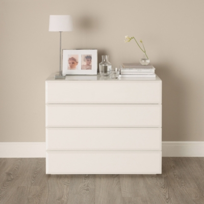 Carlton Glass Chest Of Drawers | Bedroom Furniture | The White Company UK