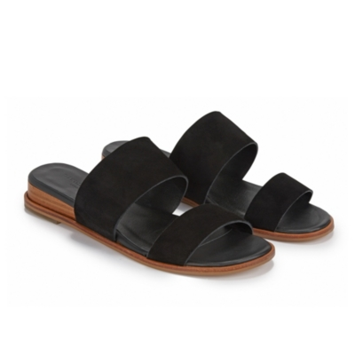 Double Strap Low Wedges
