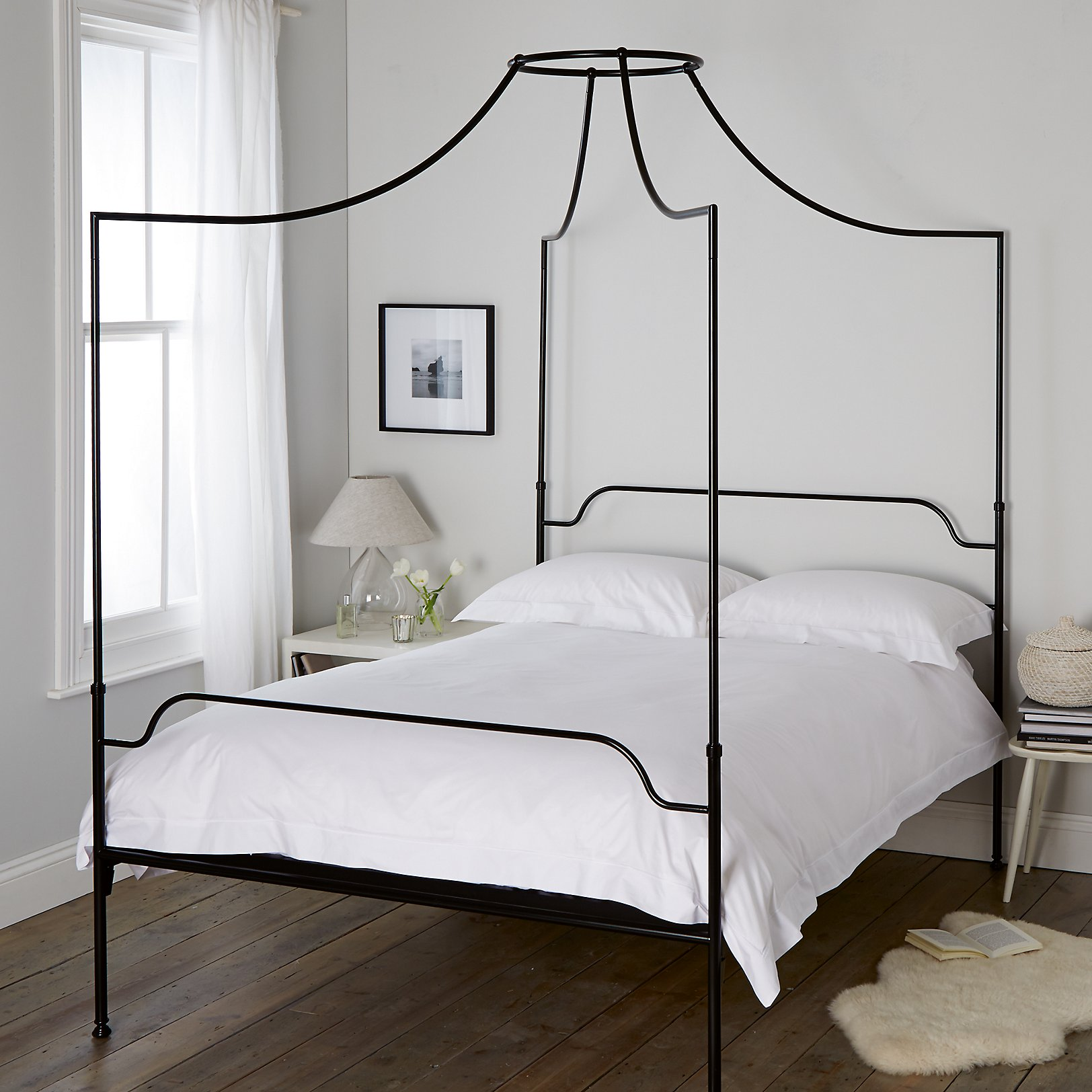 . Beaumont Four Poster Bed   Beds   The White Company UK