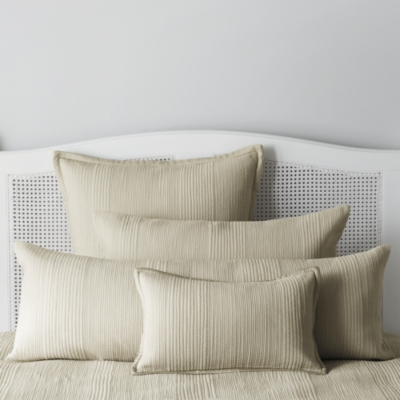 Belgravia Quilts & Cushion Covers - Natural