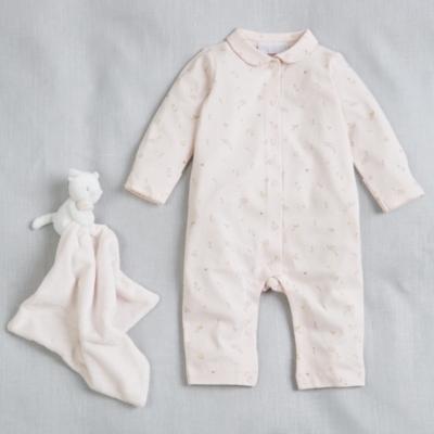 Bella Collared Baby Sleepsuit