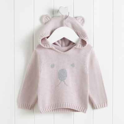 Bear Face Sweater - The White Company