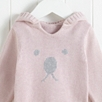 Bear Face Sweater - Pink