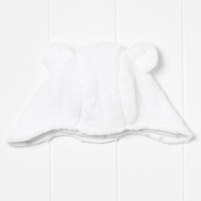 Bear Fleece Trapper Hat