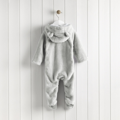 Bear Fleece Romper
