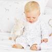 Bella Floral Flannel Sleepsuit