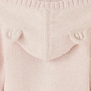 Baby Girls' Bear Face Sweater