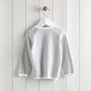 Bear Motif Stripe Sweater