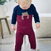 Bear Knit Romper