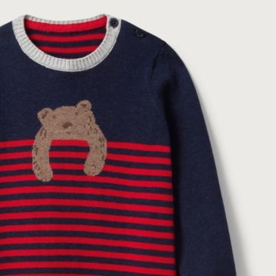 Bear Knit Romper