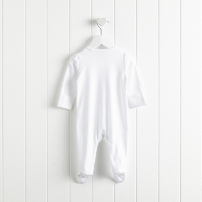 Ballet Embroidered Sleepsuit