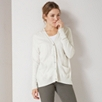 Split Back Pocket Cardigan