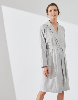 Brushed Flannel Robe