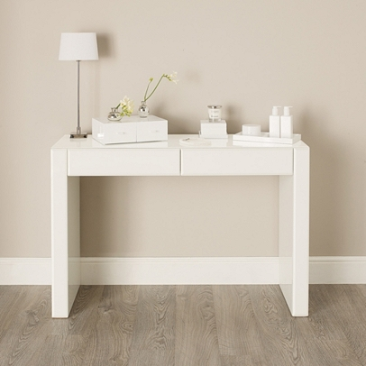 carlton glass dressing table bedroom furniture the white company uk. Black Bedroom Furniture Sets. Home Design Ideas