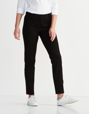 Oxford 4 Way Stretch Pants - Black