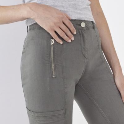 Biker Jeans - Khaki
