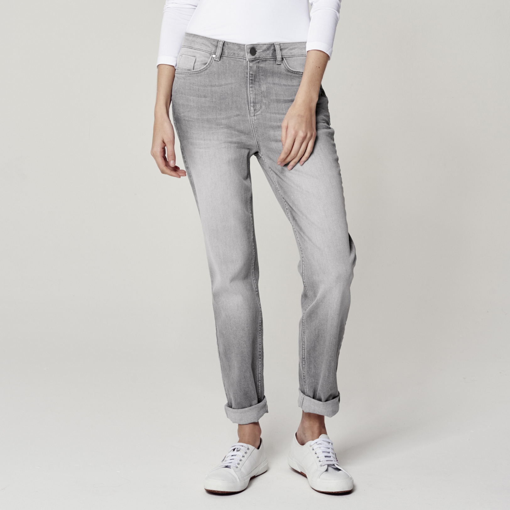 Jeans | Boyfriend & Skinny | The White Company UK