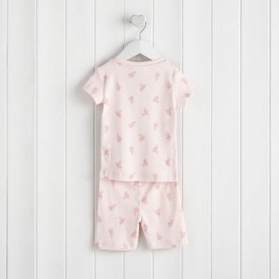 Ballerina Print Pajama Snug Fit