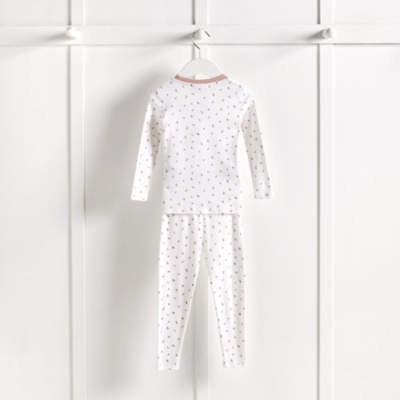 Ballerina Motif Pajamas Snug Fit