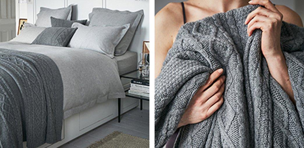 Blakeney Throw & Cushion Covers