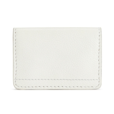 Leather Bi Fold Card Holder