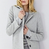 Blurred Herringbone Coat